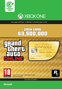 GTA Online Whale Shark Cash Card - $3,500,000 (Xbox One) Xbox Live
