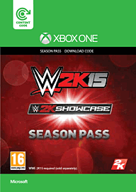 WWE 2K15 Showcase Season Pass (Xbox One) Xbox Live Cover Art