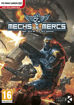 Mechs & Mercs: Black Talons PC Games Cover Art