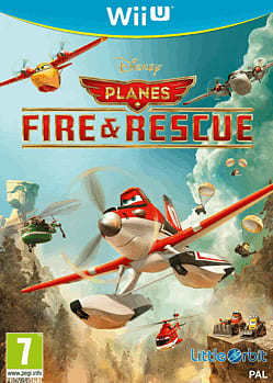 Planes, Fire And Rescue Wii U