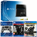 PlayStation 4 with Call of Duty: Advanced Warfare Day Zero, The Last of Us Remastered download and DualShock 4 - Urban Camo PlayStation-4
