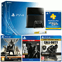 PlayStation 4 with CoD: Advanced Warfare Day Zero, The Last of Us Remastered download, Destiny + Vanguard and PS+ 12 Months PlayStation-4