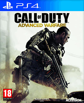 Call of Duty: Advanced Warfare PlayStation 4 Cover Art