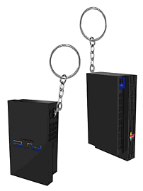 PlayStation 2 Console Keyring Gifts