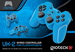VX2 Wired PS3 Controller - Blue Accessories