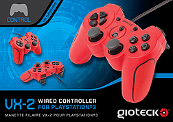 VX2 Wired PS3 Controller - Red Accessories