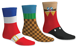 Sonic the Hedgehog Socks Clothing