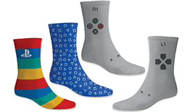 PlayStation Socks Clothing