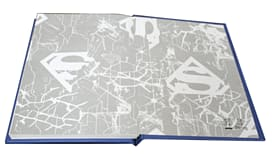 Superman Light Up Notebook screen shot 3