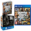 Grand Theft Auto V with Wireless Pulse Headset and Strategy Guide - Only at GAME.co.uk PlayStation 4