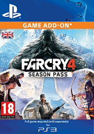 Far Cry 4 Season Pass (PS3) PlayStation Network