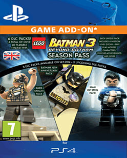 LEGO Batman 3: Beyond Gotham Season Pass (PS4) PlayStation Network