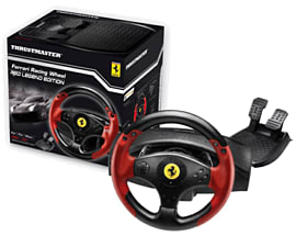Thrustmaster Ferrari Racing Wheel Red Legend Edition for PC and PS3 Accessories
