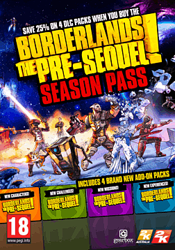 Borderlands: The Pre-Sequel Season Pass (Mac & Linux) Mac