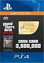 GTA Online Whale Shark Cash Card - $3,500,000 (PS4) PlayStation Network