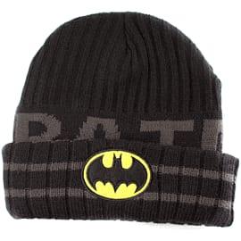 Batman Logo Acrylic Mask Knit Beanie Hat (Black/Grey) Gifts and Gadgets