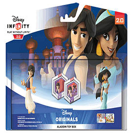 Disney INFINITY 2.0 Aladdin Toy Box Pack Toys and Gadgets