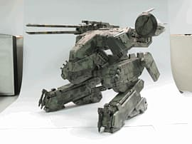 Metal Gear Solid - Metal Gear Rex Figure Gifts and Gadgets