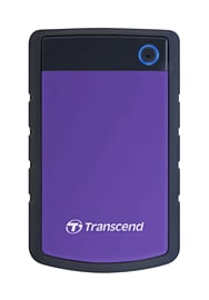 1TB Transcend StoreJet 2.5 Hard Drive Accessories