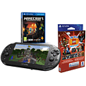 PS Vita Slim with LEGO Mega Pack, 8GB Memory Card & Minecraft PlayStation Vita