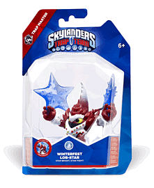 Winterfest Lob-Star - Skylanders Trap Team Character - Trap Master Toys and Gadgets