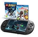PlayStation Vita Slim with LEGO Batman 3 & Little Big Planet Marvel Super Hero Edition PlayStation Vita