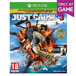 Just Cause 3 with Bloodhound RPG - Only at GAME Xbox One