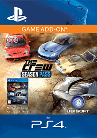 The Crew Season Pass (PlayStation 4) PlayStation Network Cover Art