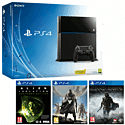 PlayStation 4 with Destiny, Alien Isolation & Middle Earth Shadow of Mordor PlayStation 4