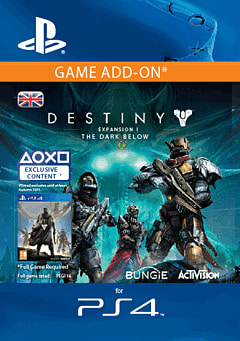 Destiny Expansion I: The Dark Below PlayStation Network