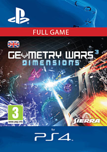 Geometry Wars 3 Dimensions (PS4) PlayStation Network