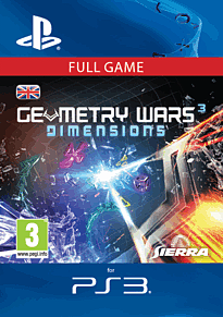 Geometry Wars 3 Dimensions (PS3) PlayStation Network