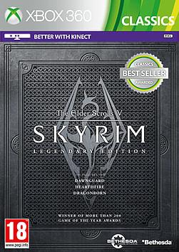 The Elder Scrolls V: Skyrim Legendary Edition (Classics) Xbox 360