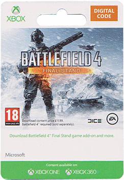 Battlefield 4 Final Stand DLC Xbox Live