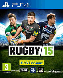Rugby 15 PlayStation 4 Cover Art