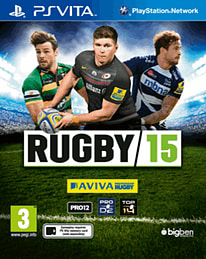Rugby 15 PS Vita Cover Art