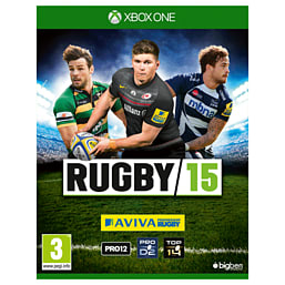 Rugby 15 Xbox One Cover Art