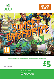 Sunset Overdrive Weapon Pack DLC Xbox Live