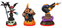 Skylanders Trap Team Triple Character Pack - Cobra Cadabra, Bat Spin and Fryno Toys and Gadgets