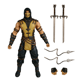 Mortal Kombat Scorpion Figure Toys and Gadgets