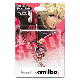 Shulk - amiibo - Super Smash Bros Collection Toys and Gadgets Cover Art