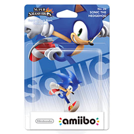 Sonic - amiibo - Super Smash Bros Collection Toys and Gadgets Cover Art