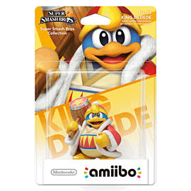 King Dedede - amiibo - Super Smash Bros Collection Toys and Gadgets Cover Art