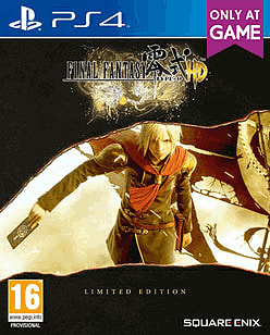 Final Fantasy Type-0 HD SteelBook Limited Edition (with Final Fantasy XV Demo Access) PlayStation 4 Cover Art