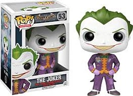 POP! Batman Arkham Asylum Joker Vinyl Figure Toys and Gadgets