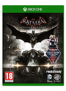 Batman Arkham Knight Xbox One Cover Art