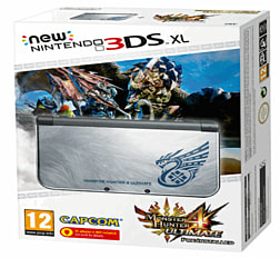 The New Nintendo 3DS XL Monster Hunter 4 Ultimate Special Edition - Only at GAME Nintendo 3DS