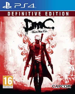 DmC: Devil May Cry Definitive Edition PlayStation 4 Cover Art