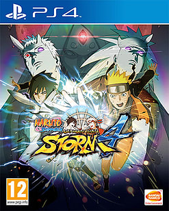 Naruto Shippuden: Ultimate Ninja Storm 4 PlayStation 4 Cover Art