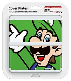 New 3DS Cover Plate - Luigi Accessories